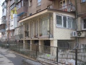 Легализация  пристройка балкона на первом этаже